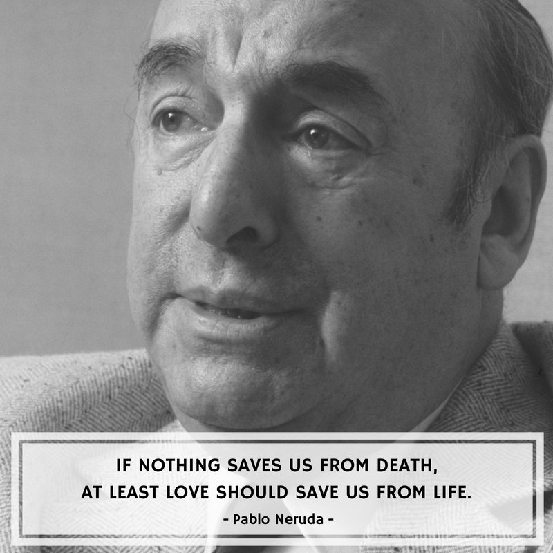 Happy Birthday to the most beloved poet who inspires love and life even today - Pablo Neruda. #HappyBirthdayPabloNeruda #PabloNeruda <br>http://pic.twitter.com/eKLqR8Lp9i