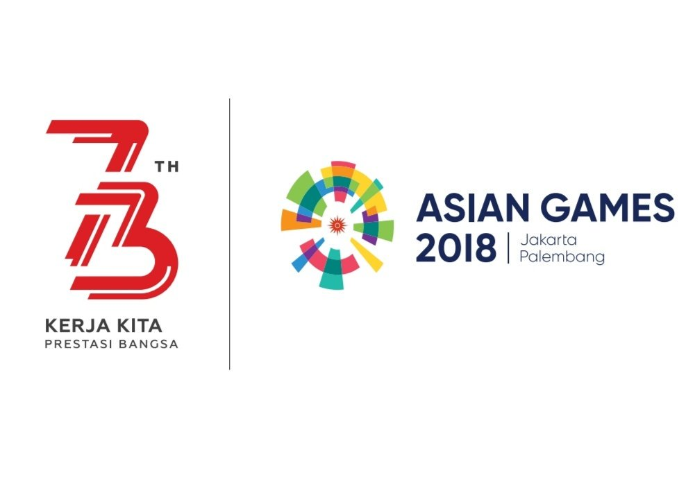 Logo resmi HUT ke-73 Kemerdekaan RI 2018