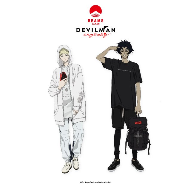 『DEVILMAN crybaby meets BEAMS JAPAN -SABBATH SHINJUKU-』開催7/1