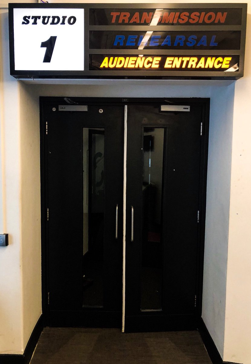 Nearly twenty years ago I walked rather nervously through these very doors at @thisistvc for my #bluepeter audition. What a ride the next twenty years were. #memories This time it's an appearance on ITV's #Lorraine today.