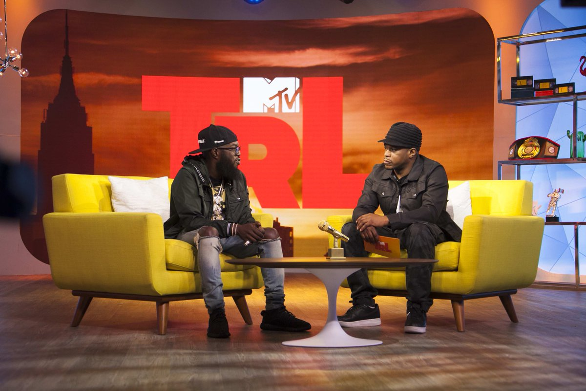 .@realsway is talking to my fav @phillyfreezer on @mtv right now yall!!! #TRL