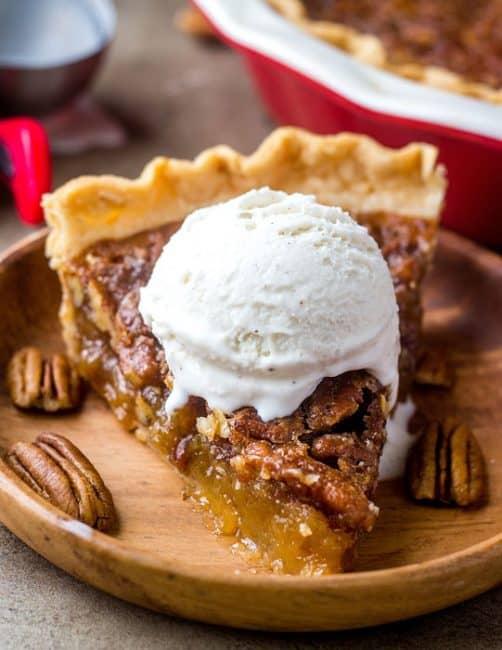 #Yummy! RT @gigirules7: Warm Pecan Pie with Ice Cream #NationalPecanPieDay <br>http://pic.twitter.com/2GQuK4GAwU