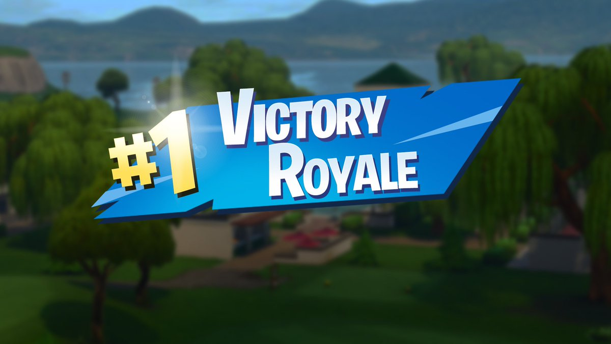 Spiral On Twitter New Fortnite Victory Royale Logo Png