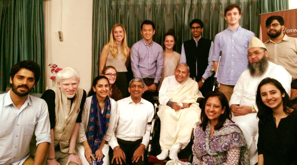 We will always remember @DadaJPVaswanis incomparable warmth, love, and childlike sense of wonder. He taught us about humility, kindness, forgiveness, and light. He was a blessing to all who knew him, and we treasure our memories of him. His presence will be deeply missed.