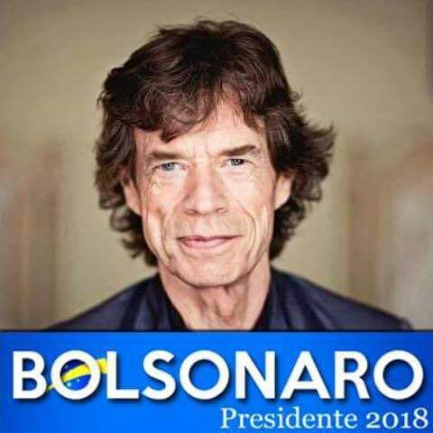 Renato Galisteu's photo on Mick Jagger