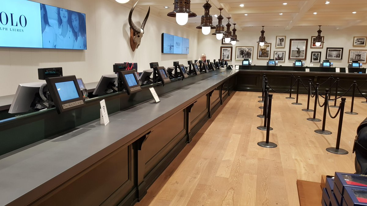 test Twitter Media - #ThursdayThoughts At the point of sale, a compact and ergonomic layout of the technology is a must; & it's what customers expect of prominent, and professional brands. @RalphLauren in Bicester Village is a great example  https://t.co/WLsfCfMv31 https://t.co/liH85tOa3v