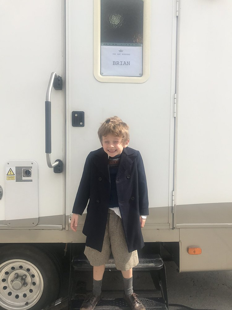 George (Year 2) has been on set again! This time appearing in Agatha Christie's 'ABC Murders' as 'Brian' a 1930's boy.  The show be screened on Boxing Day. #tv #drama #youngactor https://t.co/URxciNRxsP
