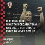 ✅ The captain of the #WorldCup finalists.#FlamingPride #Croatia #Vatreni🔥