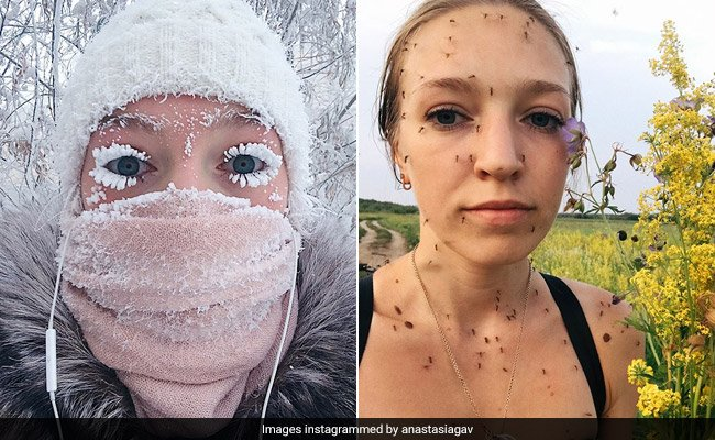 Remember the woman with frozen lashes? Now her summer pic is going viral https://t.co/35Y7wS6r6s