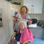 Our Golding Years Hair & Beauty Salon at @PelhamHouse123 💇♀️💇♂️ Annie our fantastic hair and beauty expert visits us weekly to make our residents feel pampered and looking good 💇♀️💇♂️ We are bowled over by her expertise