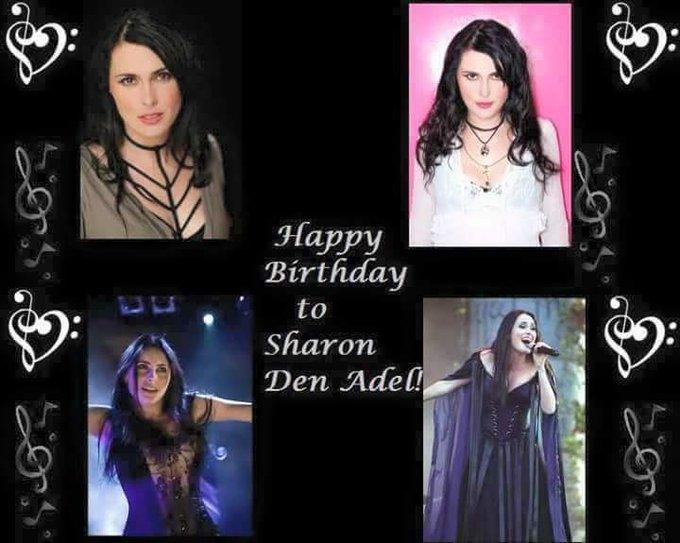 Happy Birthday to Sharon Den Adel of Within Temptation!