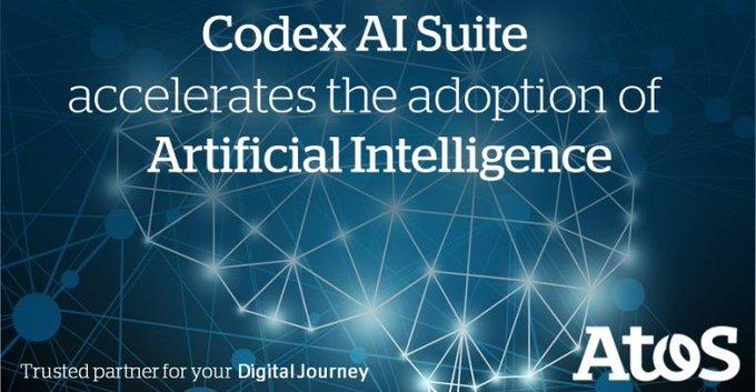 Atos presenta @AtosCodex AI Suite,el paquete de software de #InteligenciaArtificial más compl...