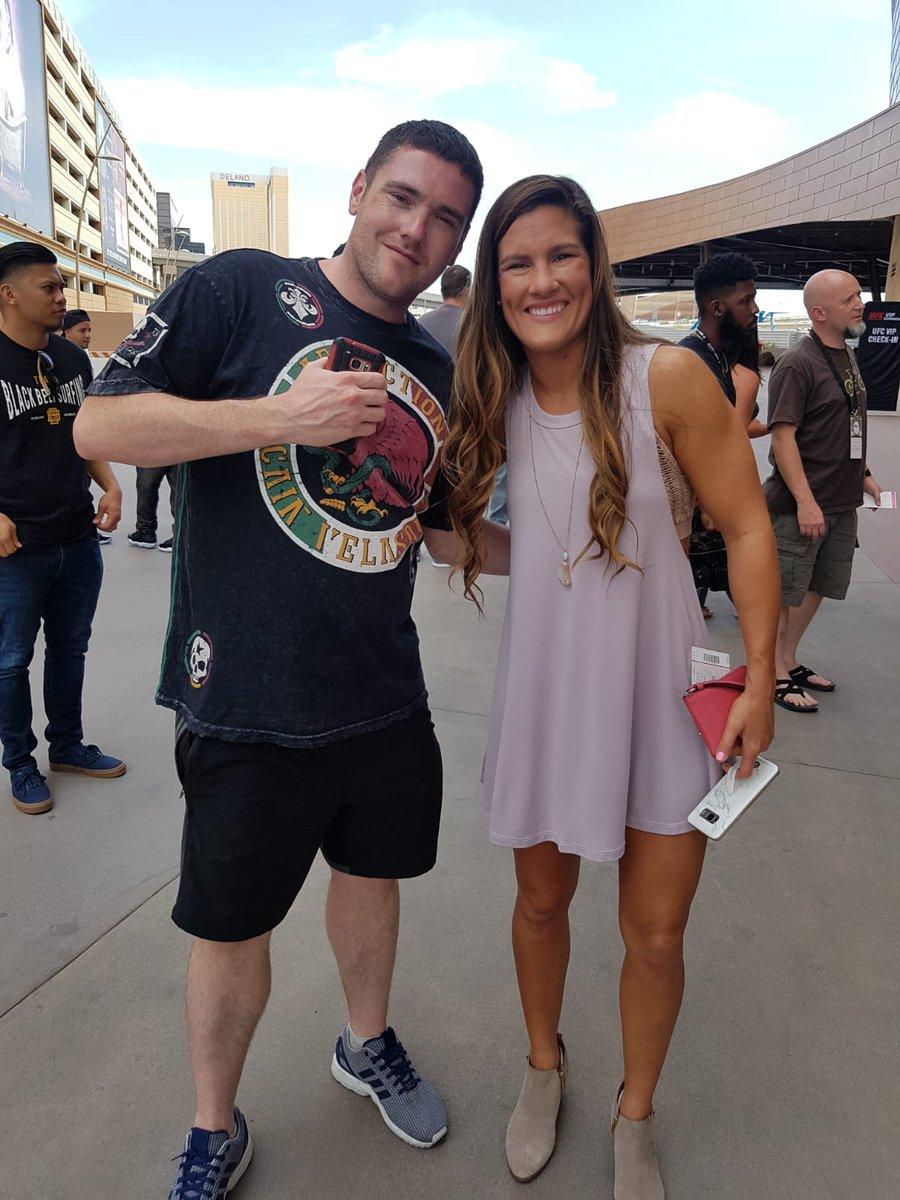 Cortney Casey UFC International Fight Week July 2018