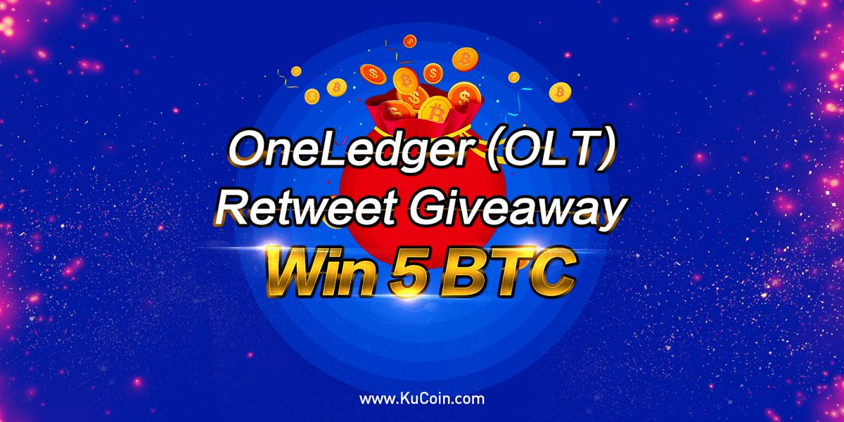 We are launching a new listing promotion together with @OneLedgerTech 5 BTC in total rewards!  Details: https://news.kucoin.com/en/oneledger-olt-gets-listed-on-kucoin-world-premiere/ …  1. Follow @kucoincom 2. Join KuCoin official Telegram https://t.me/Kucoin_Exchange    3. fill in the form: https://goo.gl/forms/iaxJoKnukprtCvTx1 …  #KCS #OLT #BTC #ETH #ICO
