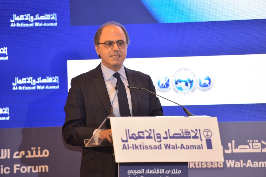 #MiddleEast and North Africa (#MENA) spend less than 11% of their GDP on social safety nets, health, and education, compared to 19% in Emerging Europe. Accelerating reforms will create more room for priority spending. Read speech by Jihad Azour   http:// ow.ly/t9uX30kUVAi  &nbsp;    #AEF2018 <br>http://pic.twitter.com/3O11wDg1M9