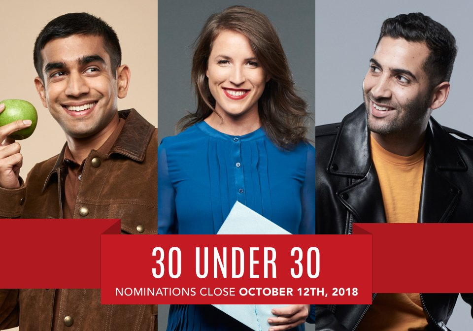 Forbes is looking for the boldest young leaders to join our #30Under30 community: https://t.co/dg5MyXzqFS https://t.co/ICJrJikgpF