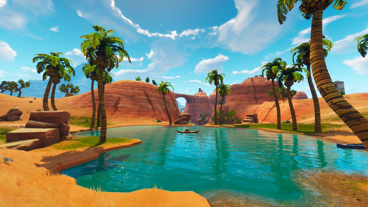 Fortnite Landschaft