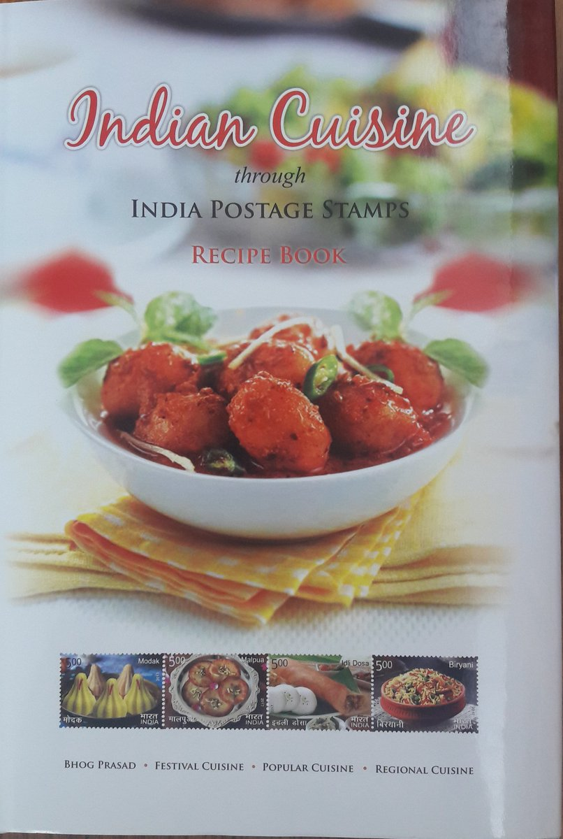 Sharad mohan on twitter iamrana bought this fabulous book today available from indiapostoffice for rs 500 it combines philately with indian street food recipes interesting buy uniqie initiative forumfinder Choice Image