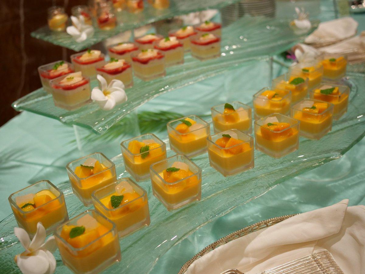 横浜シェラトンにてナイトスイーツブッフェ「Sweets Parade」~桃とマンゴー~  マンゴー好きにはたまらない(*´-`)