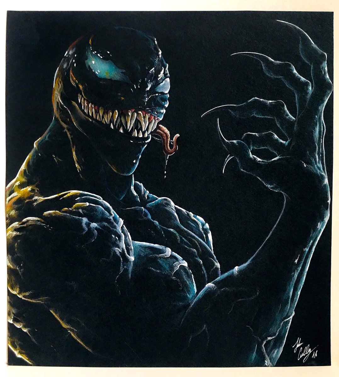 Leily Nocturnadraco On Twitter We Are Venom My Tribute To The