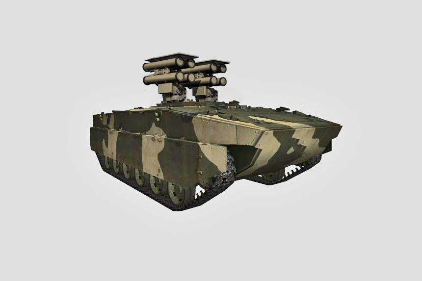صائده الدبابات : منظومه Kornet-D1 الذاتيه الحركه المخصصه للقوات المحموله جوا  Dh5z-tJWkAAYPDq