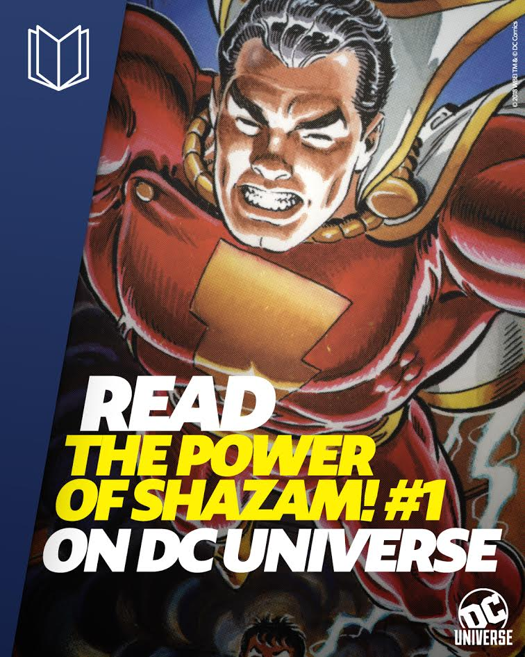 Just say the magic word and experience a new way to read comics. #DCUniverse gives you access to thousands of titles—learn more:  https:// yourdcu.com/twreadsh  &nbsp;  <br>http://pic.twitter.com/isIsuwcYNW