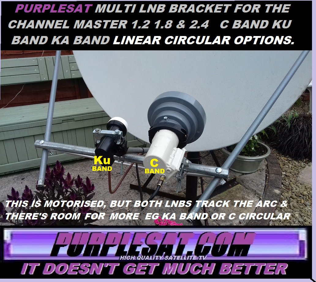 Channel Master 1 8 Meter Dish Installation manual