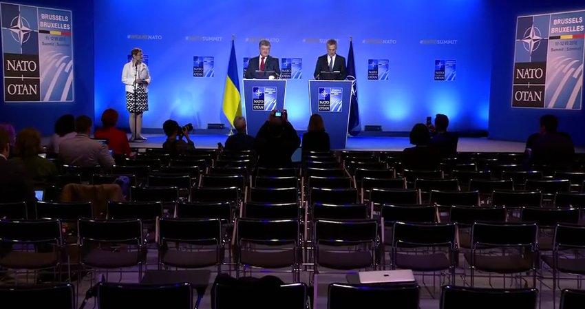 Україна сподівається на підтримку НАТО щодо міжнародної миротворчої місії на Донбасі, - Порошенко - Цензор.НЕТ 219