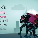 Zero churn? It's possible. Here's how.   Slack's community superpower for #SaaS is all about churn: https://t.co/WLNJWR6bTi by @NikkiElizDeMere
