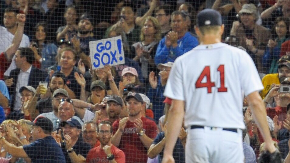 """""""I appreciate the fans coming out and bringing the energy with them."""" -Chris Sale https://t.co/1o7KrgIld8"""