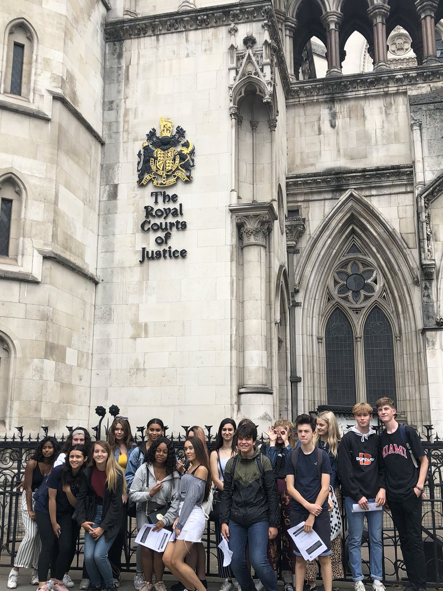 #WiderSkillsWeek Day 3: The Royal Courts of Justice! #EsherCollege #EsherSociology #WSW
