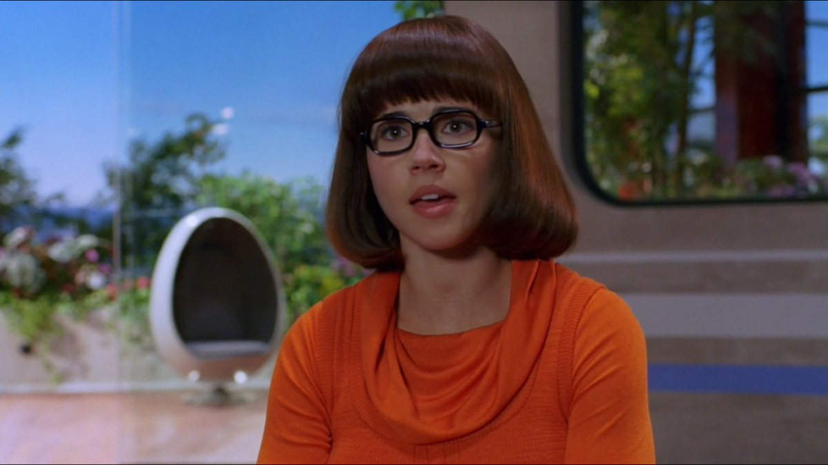 Hawkeye&#39;s wife is also Velma.  #ILearnedItByWatching <br>http://pic.twitter.com/XSRHA5D5y4