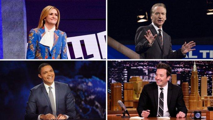 #Emmy noms: Battle among late night talk hosts should make for most suspenseful reveal Photo