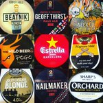 Image for the Tweet beginning: Today's line up.... @TwoRosesBrewCo @GipsyHillBrew @WildBeerCo