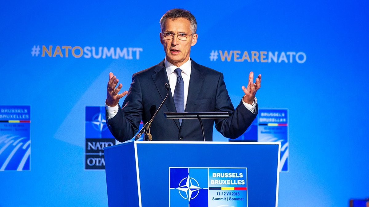 [ICYMI] NATO Secretary Generals press conference at the conclusion of #NATOSummit #Brussels youtu.be/UXt2bUPVN8w