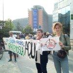 Image for the Tweet beginning: Detienen en Bruselas a antimilitaristas