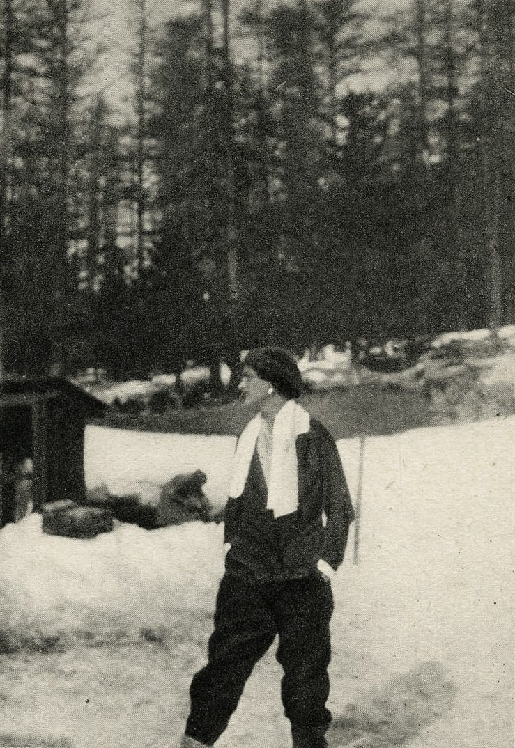 5b31fc8ef99e31  GabrielleChanel in St. Moritz — Mademoiselle used to spend her winters in  the Swiss