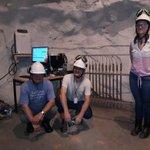 Image for the Tweet beginning: Natural Background Radiation pilot measurements