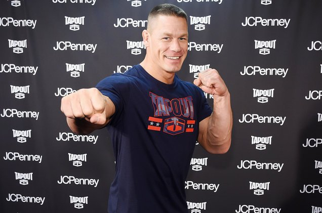 John Cena has graciously volunteered to be BTS' bodyguard https://t.co/AVL8XClxMt