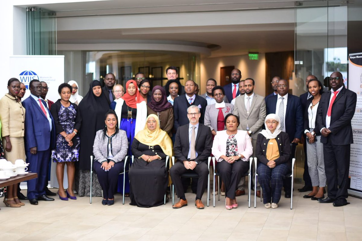 In my position as KEWOPA chairlady i was part of the Ongoing discussions on the role of women in countering violent extremism at the capacity building workshop for Women Parliamentarians organized by @WIIS_HoA and @KEWOPA #PVEPoliticalWill cc @EstherPassaris @noor_sophia