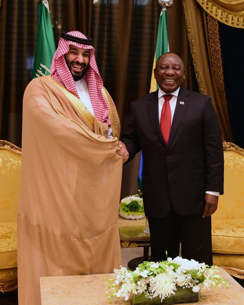 The Kingdom of Saudi Arabia has pledged $10bn in new investment in South Africa, a minimum of 25% of that amount going towards projects in the energy sector.