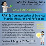 Image for the Tweet beginning: Calling all #scicomm colleagues &