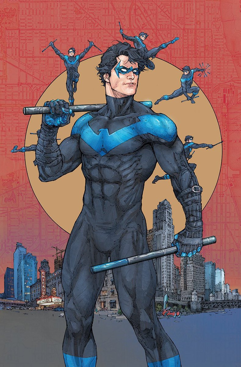 Nightwing variant cover (pencil, ink and color by me) #Nightwing #DCComics