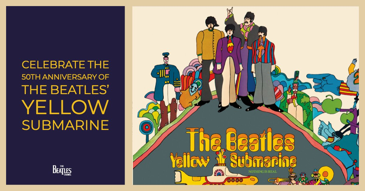 Reloaded twaddle – RT @SIRIUSXM: .@thebeatles Channel celebrates the 50th anniversary of Yellow Sub...