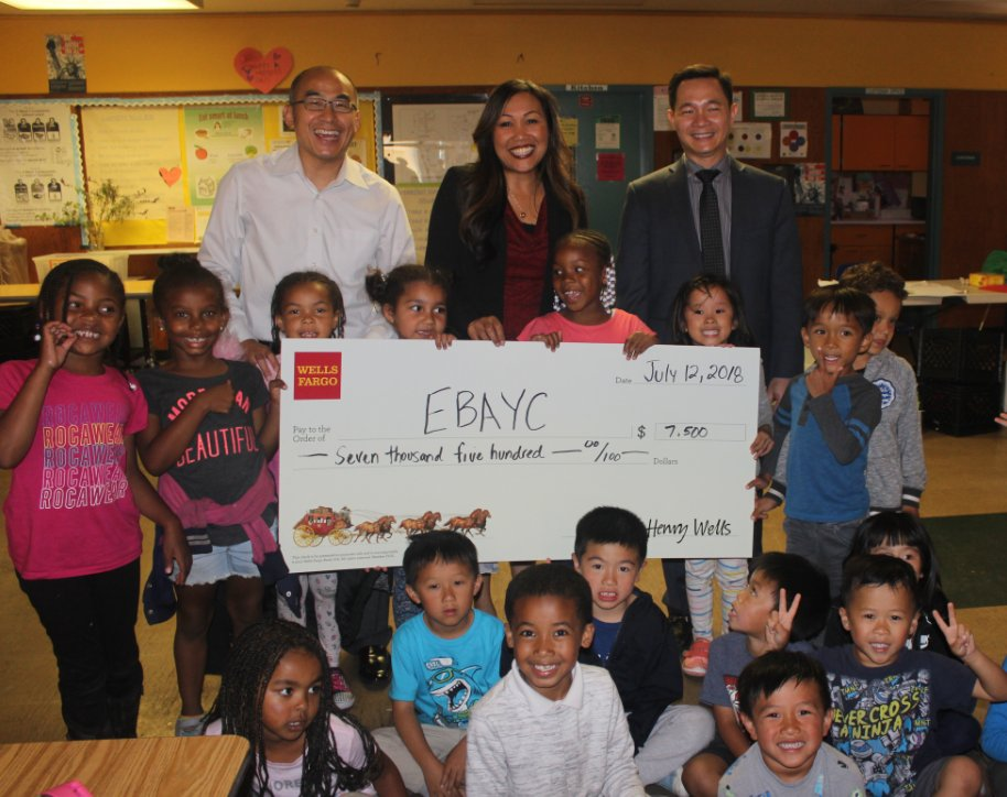 test Twitter Media - A huge #EBAYC thank you to @WellsFargo for their generous contribution to our programs! We are grateful for your support of our Young Oakland Scholars program and your commitment to investing in our youth! https://t.co/VXsLcHDhav