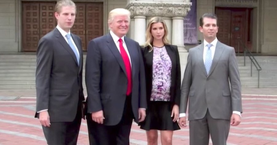 Trump family fails at standing