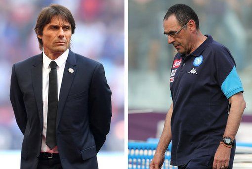 The possible cost of replacing Conte with Sarri Photo