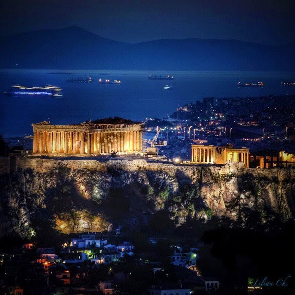 A Miracle of the world! Acropolis of Athens! G R E E C E <br>http://pic.twitter.com/nxDe3vBIbl