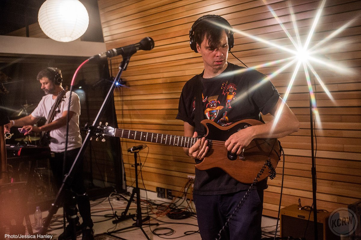 Listen to @mbeKCRW's session with @DirtyProjectors on-air now ⚡️ kcrw.com/mbe