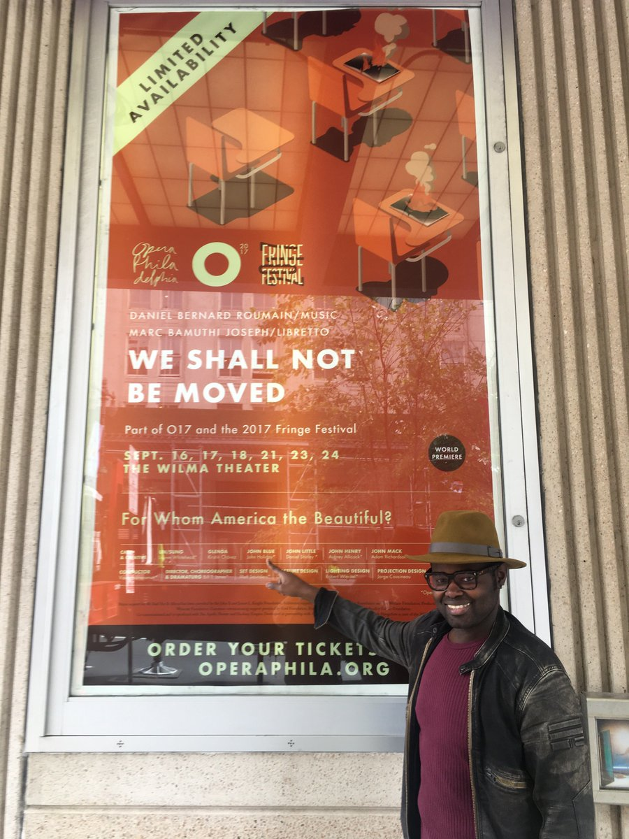 """I'm so incredibly proud that I've gotten to be a part of such an amazing story of love, loss, redemption, and making the choice to be set free."""" - @JohnHolidayLive. Support free opera: kck.st/OperaPhila #operaforphila #WSNBM #onthemall"""